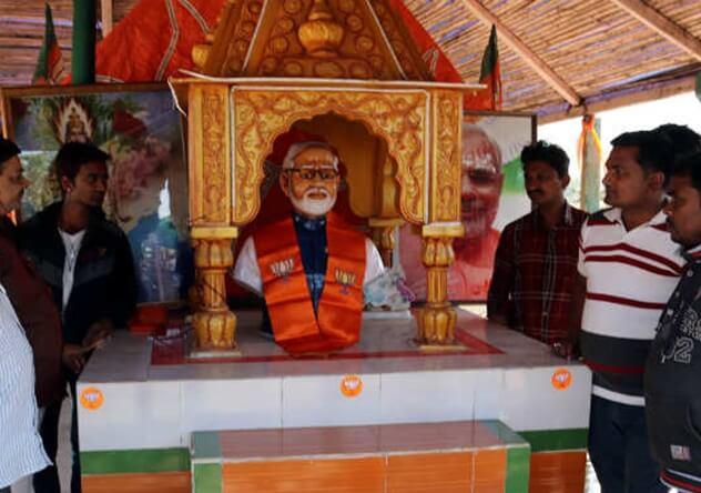 Narendra Modi Temple Rajkot, PM Modi temples in India, Narendra Modi Temple Meerut