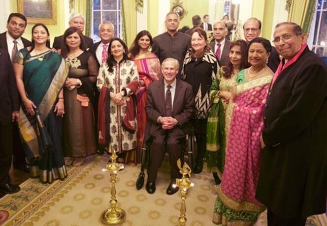 Texas Governor Greg Abbott, Texas news, USA Diwali 2017, Texas Indian Americans