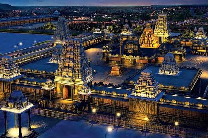 Yadagirigutta Telangana, Yadadri Temple Complex, Telangana temples, places near Hyderabad