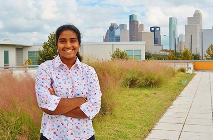 Houston Youth Poet Laureate 2017, Rukmini Kalamangalam, Hurricane Harvey Texas, Houston Indians