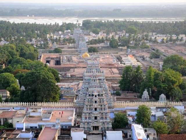Srirangam Sri Ranganathaswamy Temple, South Indian temples, UNESCO award of merit 2017,