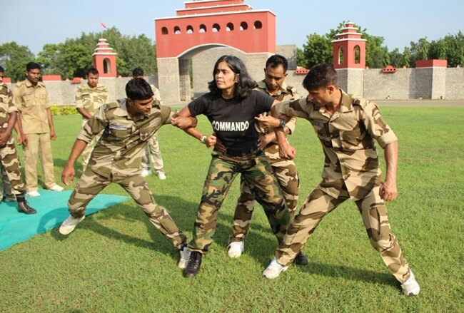 first ladies of India, Seema Rao commando trainer, Indian women power