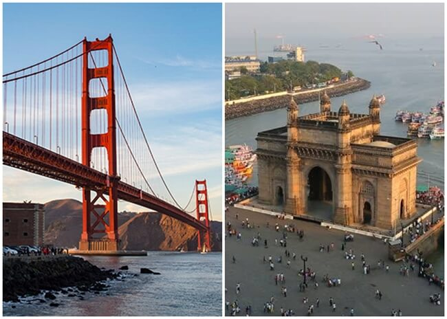 SFO to BOM flights, Air India US to India flights, San Francisco to Mumbai fare deals, Indian Eagle cheap flights