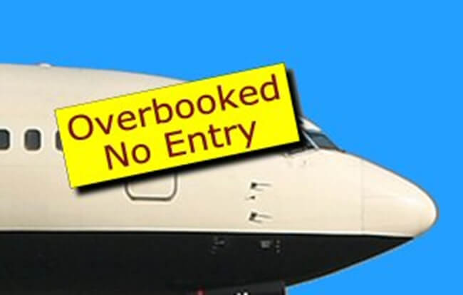 overbooking of flights, DGCA India, overbooked flight compensation
