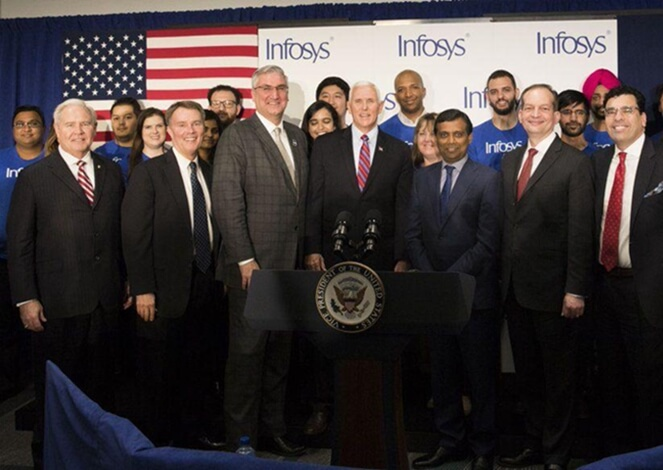Infosys education center Indianapolis, Infosys latest news, USA news, US Indiana state news