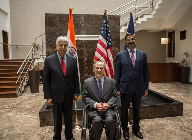 Wipro Limited news, Wipro technology center Plano Texas, Texas Governor Greg Abbott, Jobs in USA