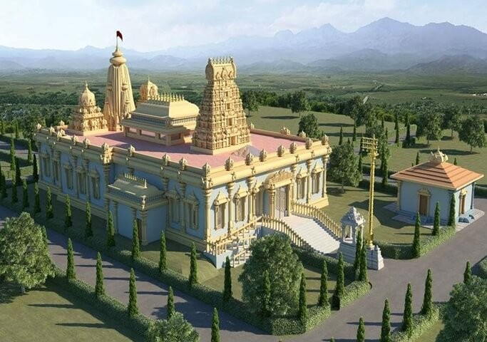 temples in the USA, US hindu temples, Hindu temple of Greater Springfield Chatham, California temples