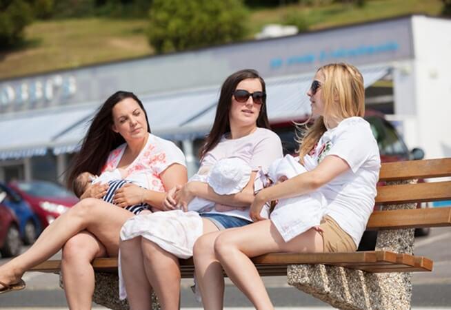breastfeeding in public, United States public breastfeeding, life in USA