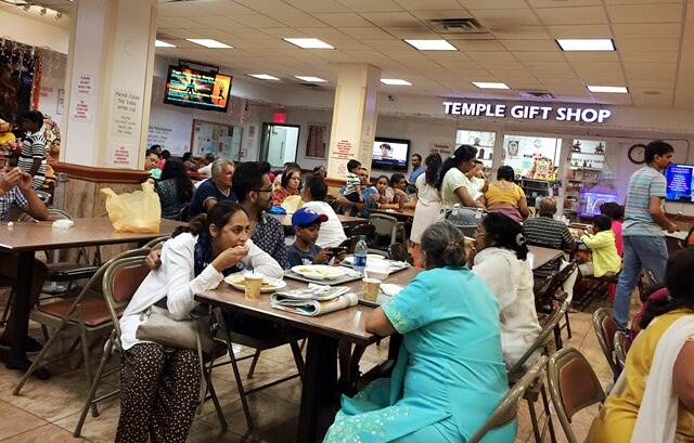 New York Indian restaurants, Ganesh Temple Canteen Flushing, best Indian food NYC, New York Hindu teples