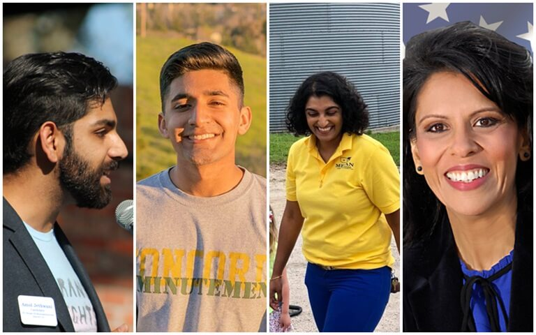 Indian American policymakers, Amol Jethwani Florida, Dr. Megan Srinivas Iowa, Aparna Madireddi San Ramon, Harry Sidhu Anaheim CAL, Raj Shukla Madison